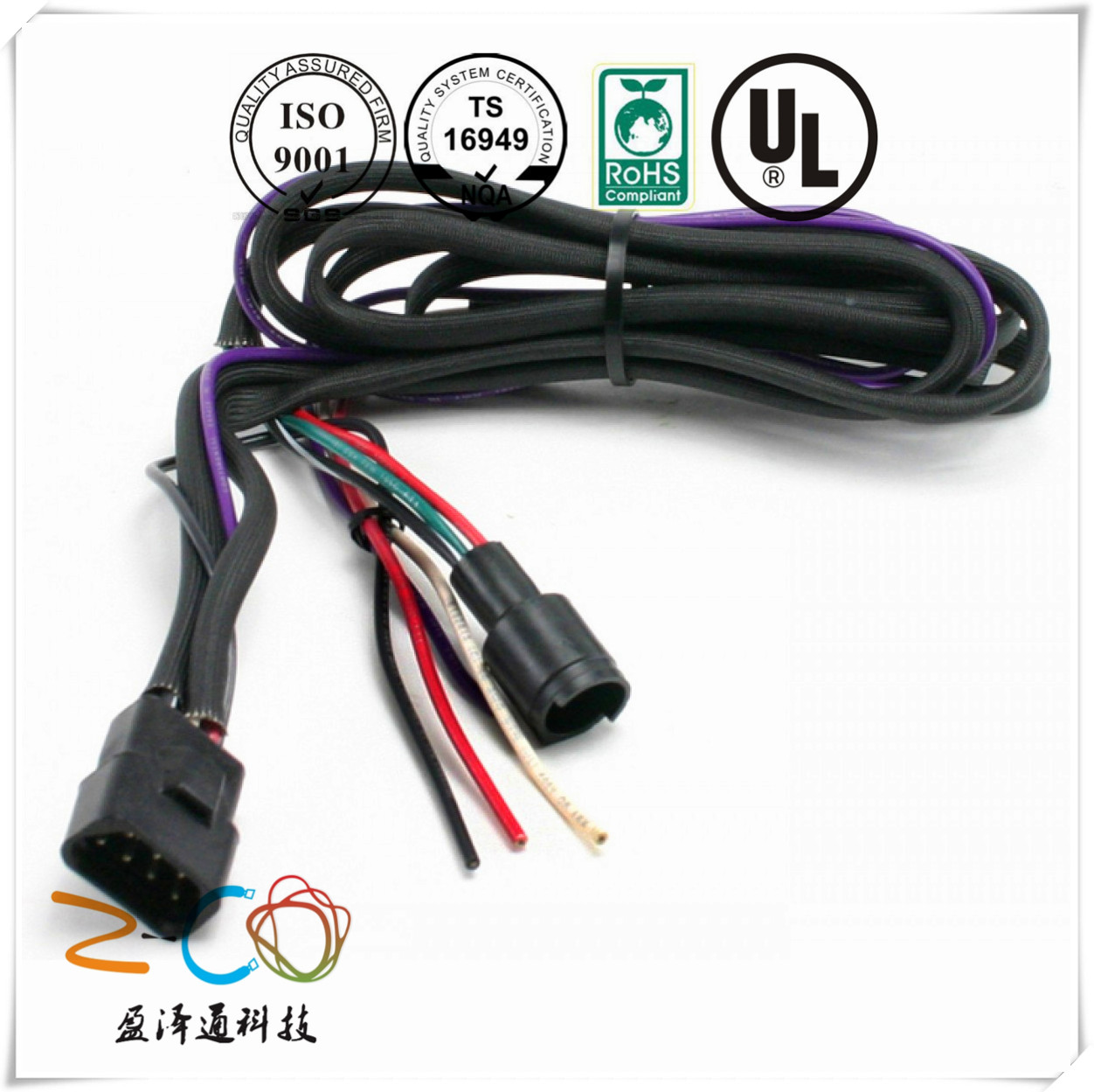 Good Quality Wire Harness And Cable Assembly Manufacturer From China Automotive Wiring Connector Harnesszco0096
